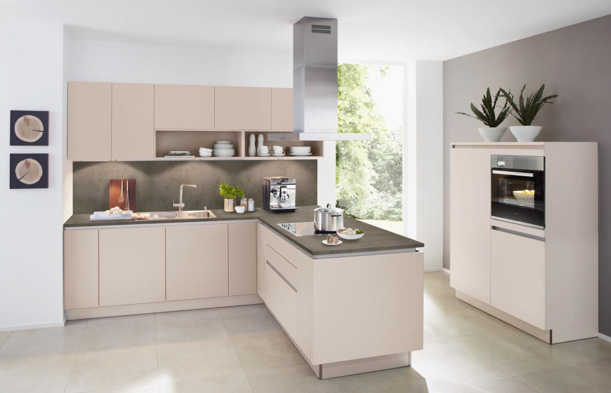 Keuken U Vorm : Tweedelige l vorm keuken soft lack op