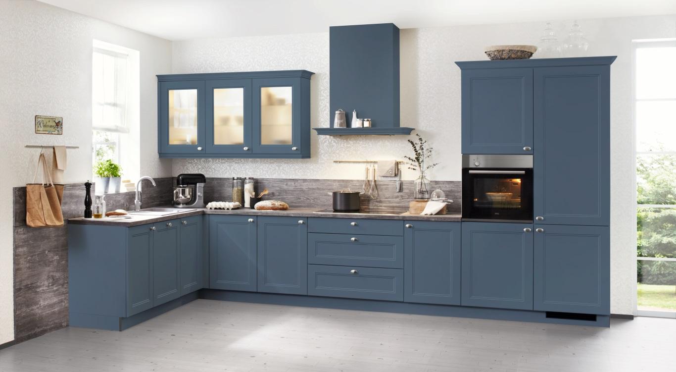 L Vorm Keuken : Tweedelige l vorm keuken alpha lack 1op1